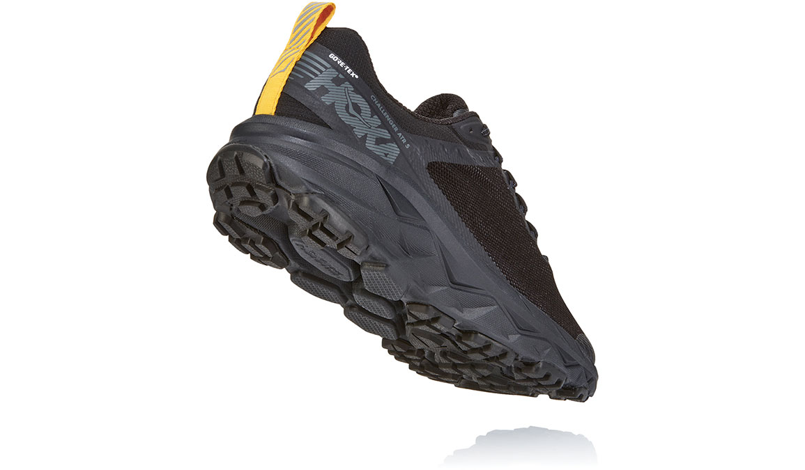 Men's Hoka One One Challenger ATR 5 Gore-Tex Trail Running Shoe - Color: Anthracite/Dark Gull Grey (Regular Width) - Size: 7, Anthracite/Dark Gull Grey, large, image 4