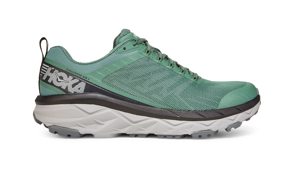 Men's Hoka One One Challenger ATR 5 Trail Running Shoe - Color: Myrtle/Charcoal Grey (Regular Width) - Size: 7, Myrtle/Charcoal Grey, large, image 1