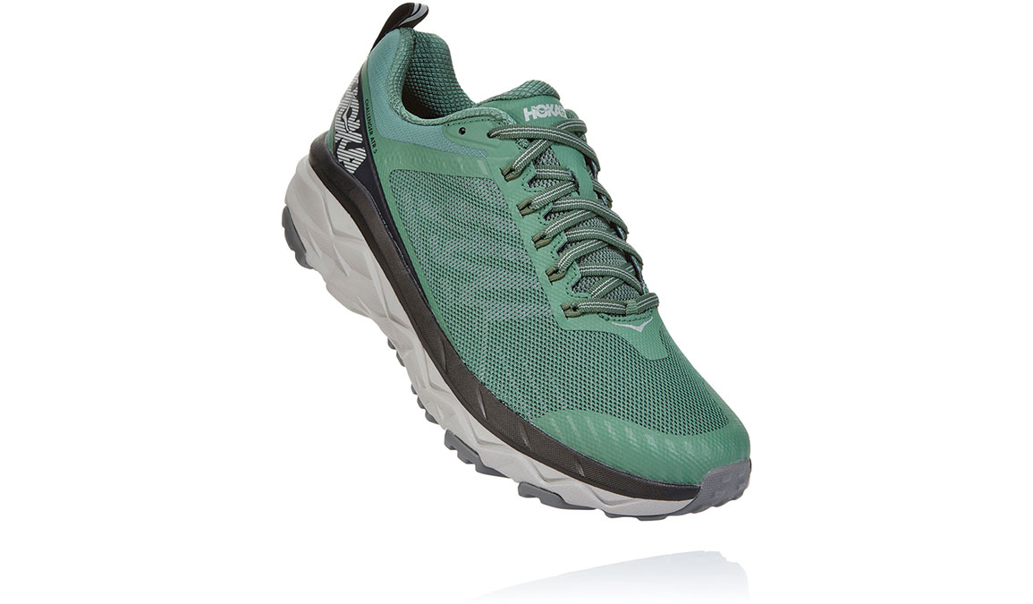 Men's Hoka One One Challenger ATR 5 Trail Running Shoe - Color: Myrtle/Charcoal Grey (Regular Width) - Size: 7, Myrtle/Charcoal Grey, large, image 2