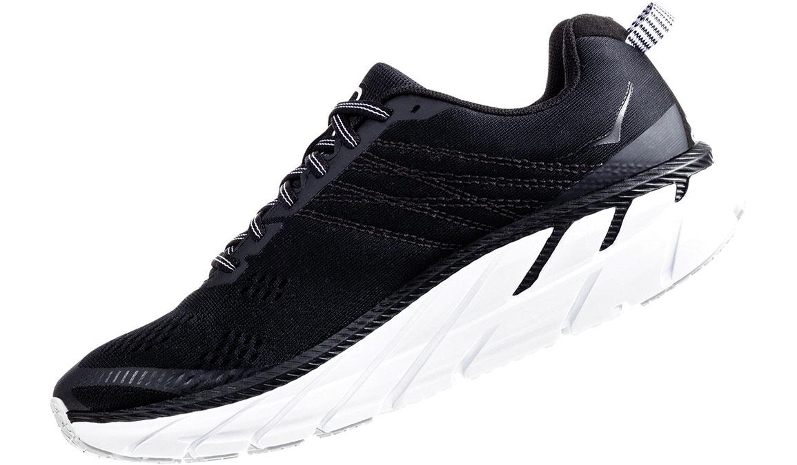 Men's Hoka One One Clifton 6 Running Shoe - Color: Black/White (Regular Width) - Size: 9, Black/White, large, image 4