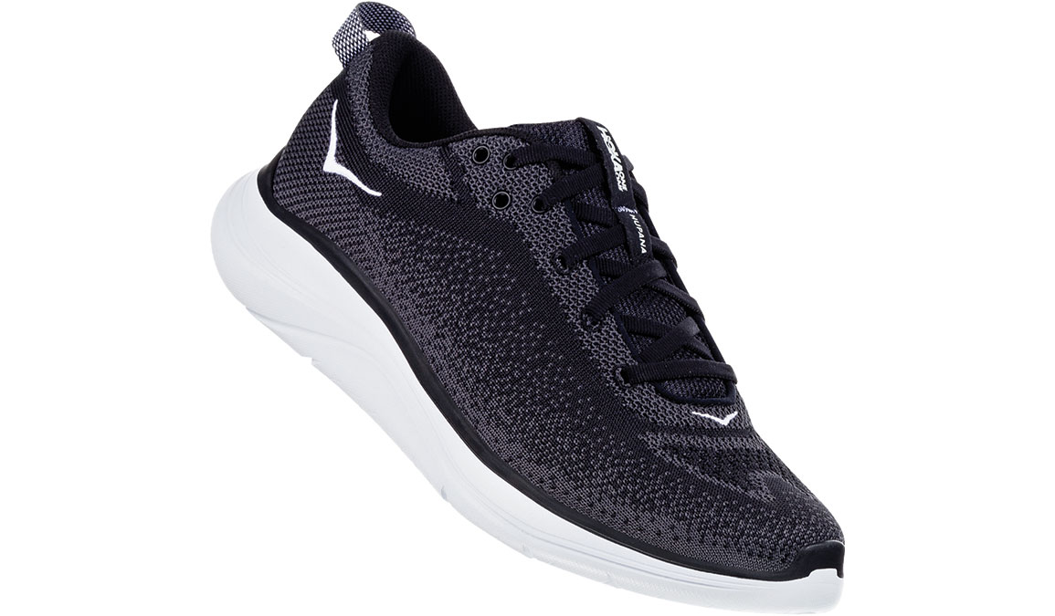 Men's Hoka One One Hupana Flow Running Shoe - Color: Black/Dark Shadow (Regular Width) - Size: 10, Black/Dark Shadow, large, image 2