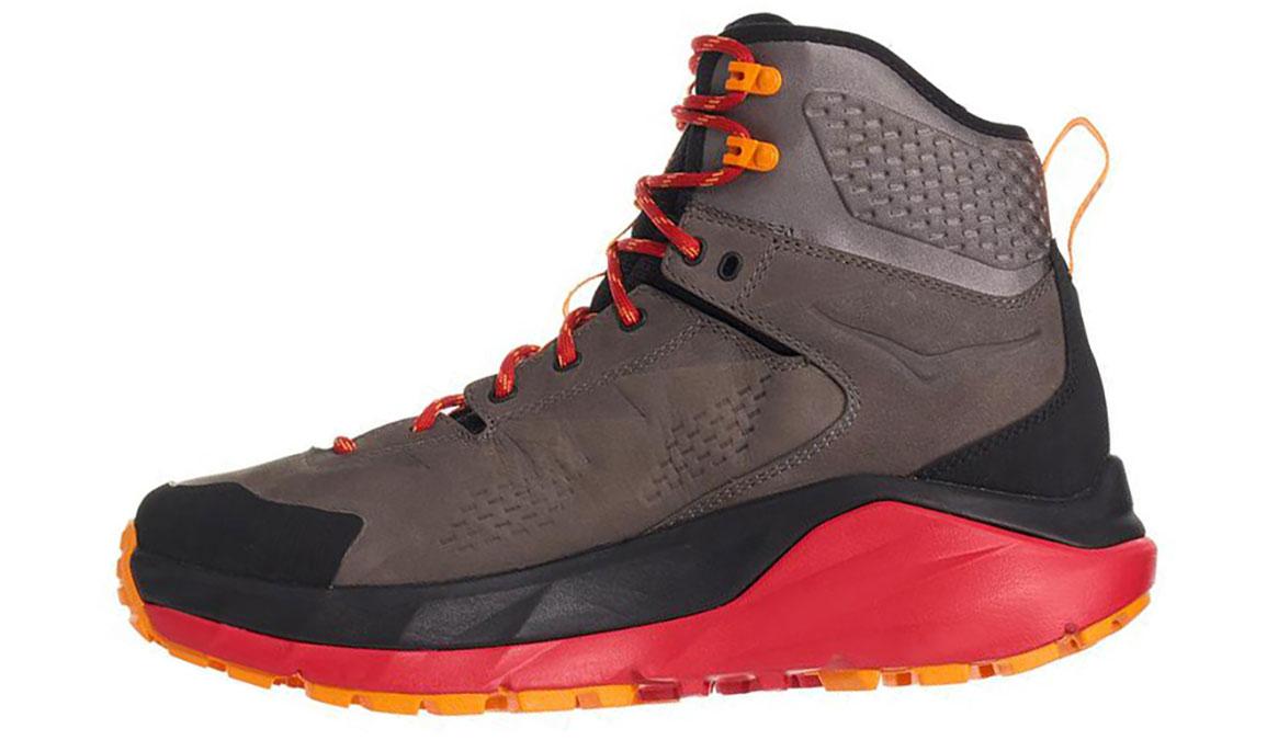 Men's Hoka One One Kaha Gore-Tex Trail Running Shoe - Color: Black/Grey (Regular Width) - Size: 9.5, Black/Grey, large, image 2