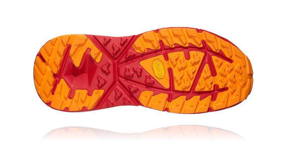 Men's Hoka One One Kaha Gore-Tex Trail Running Shoe - Color: Black/Grey (Regular Width) - Size: 9.5, Black/Grey, large, image 3