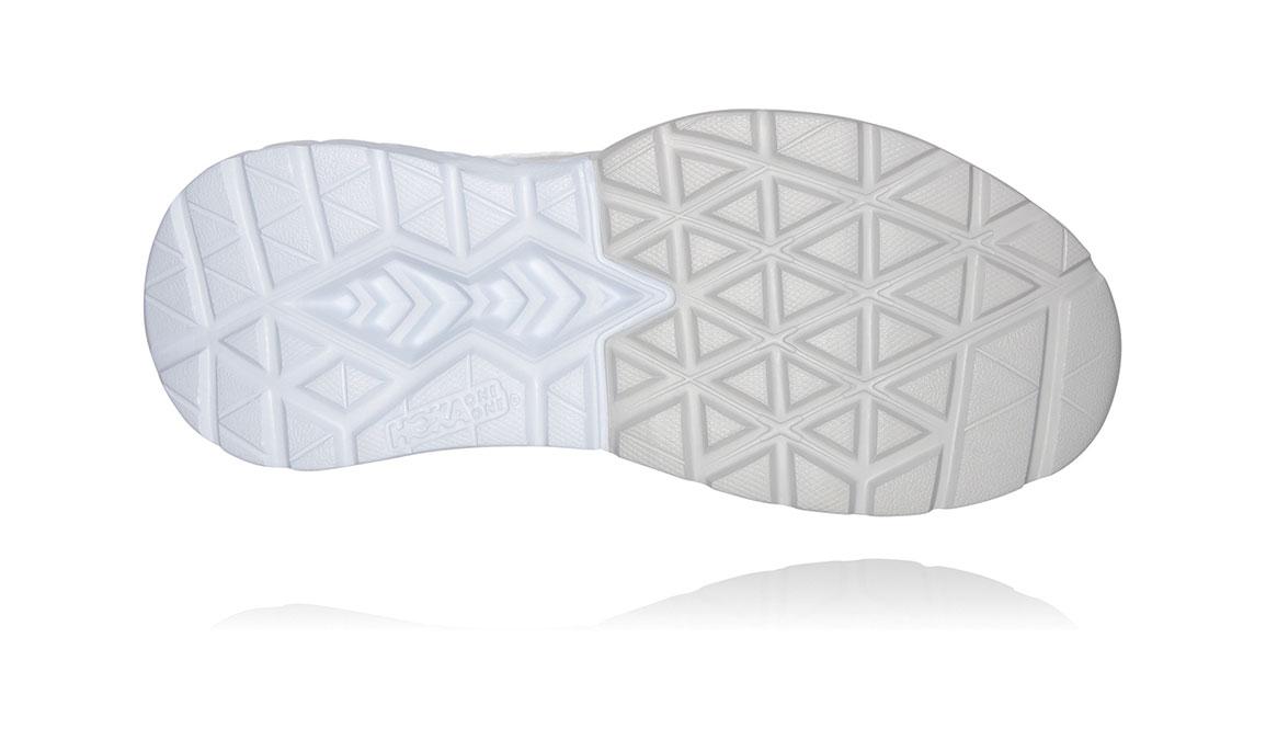Men's Hoka One One Mach 3 Running Shoe - Color: Lunar Rock/White (Regular Width) - Size: 7, Lunar Rock/White, large, image 6