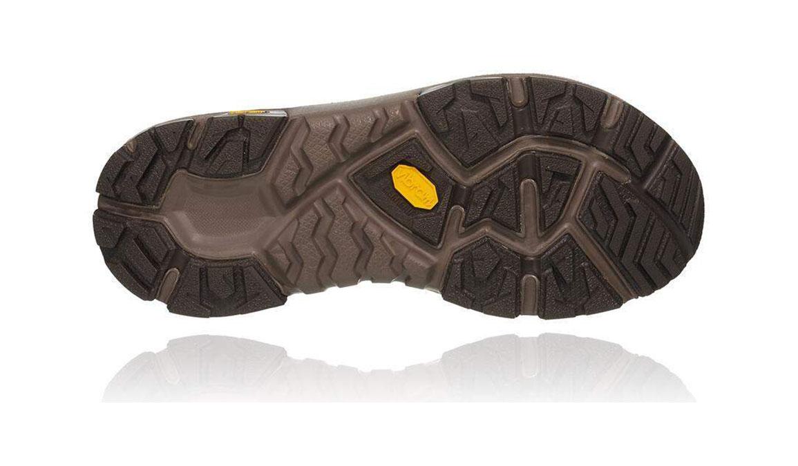 Men's Hoka One One Sky Toa Gore-Tex Trail Running Shoe - Color: Black Olive/ Orange (Regular Width) - Size: 9.5, Black Olive/Orange, large, image 3