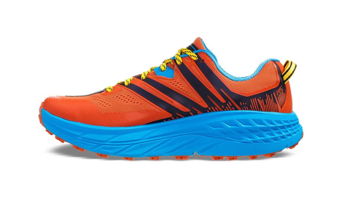 Men's Hoka One One Speedgoat 3 Trail Running Shoe - Color: Nasturtium/Spicy Orange (Regular Width) - Size: 7, Nasturtium/Spicy Orange, large, image 4