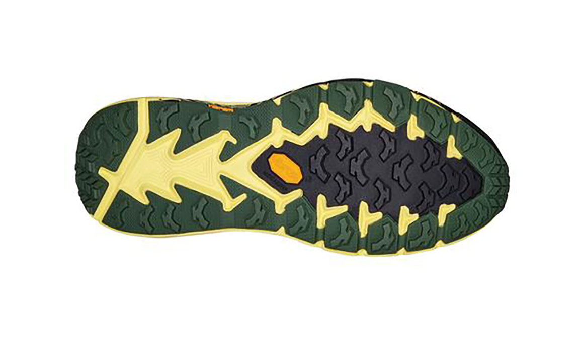 Men's Hoka One One Speedgoat 4 Trail Running Shoe - Color: Myrtle/Limelight (Regular Width) - Size: 7, Myrtle/Limelight, large, image 3