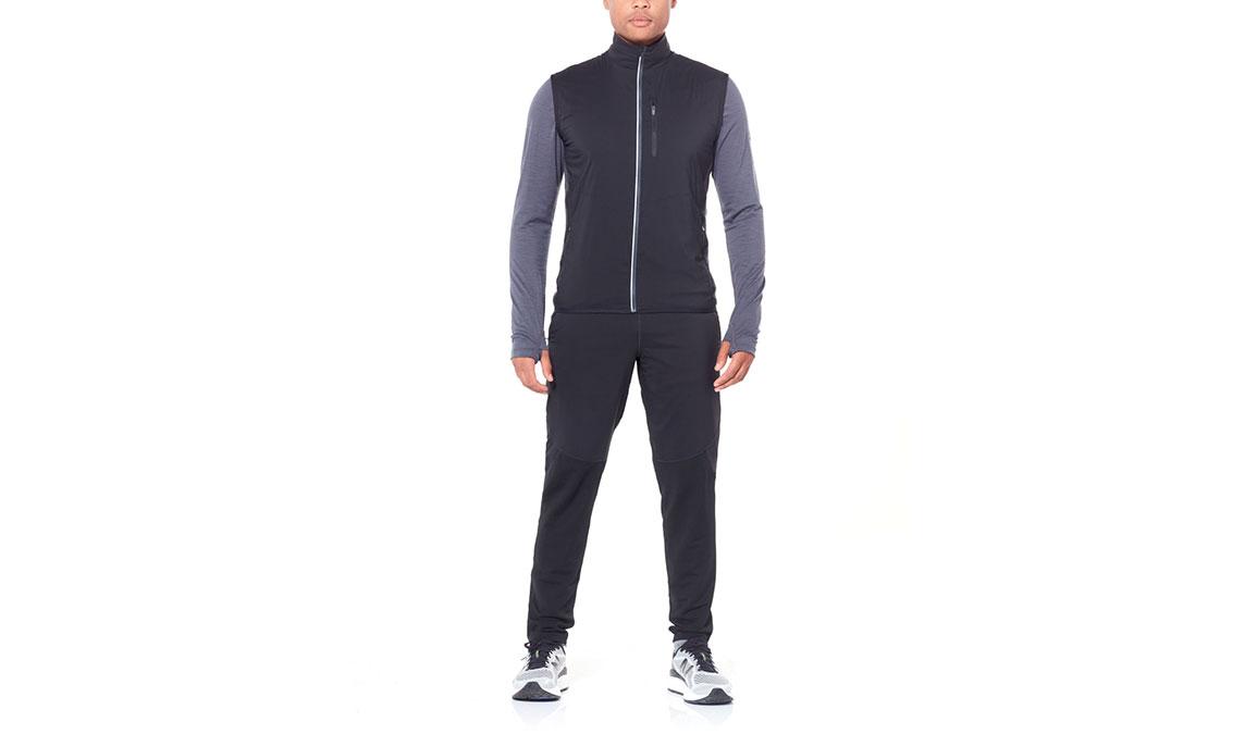 Men's Icebreaker Tech Trainer Hybrid Pants  - Color: Black Size: M, Black, large, image 3