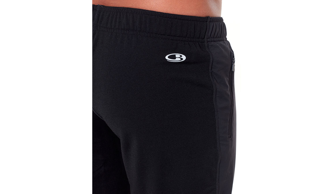 Men's Icebreaker Tech Trainer Hybrid Pants  - Color: Black Size: M, Black, large, image 4