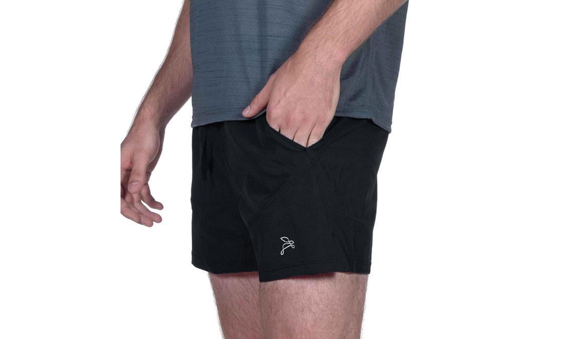 Men's JackRabbit 5'' Shorts - Color: Black Size: XL, Black, large, image 1