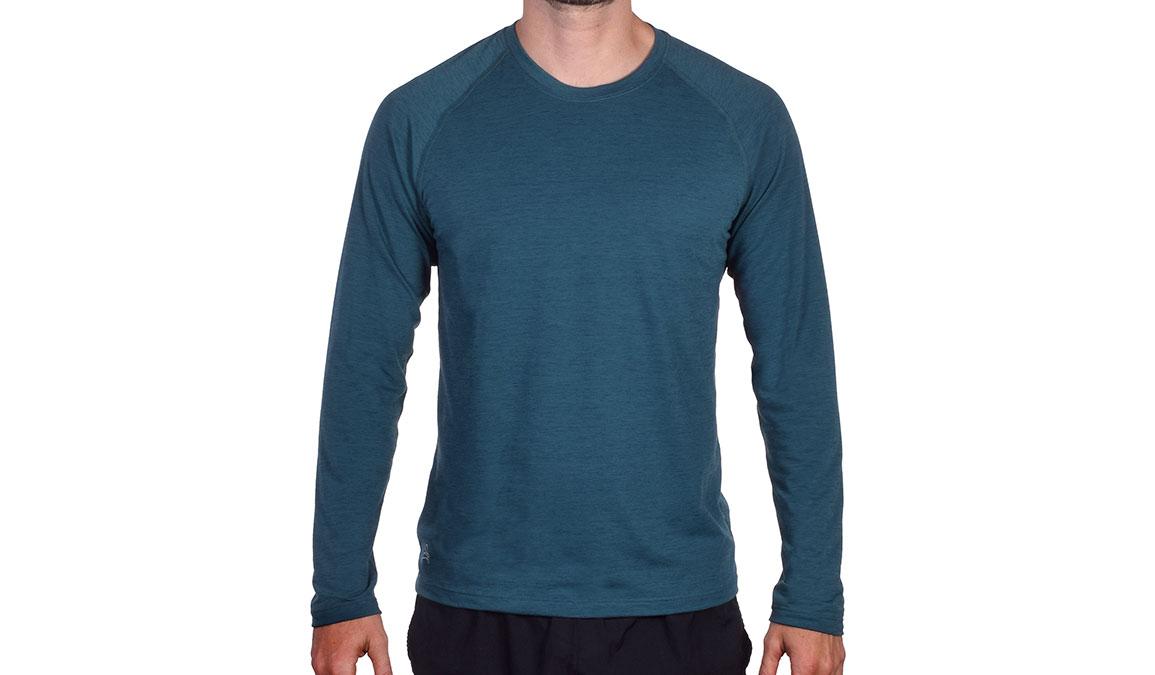 Men's JackRabbit Long Sleeve - Color: Deep Teal Size: S, Teal, large, image 1