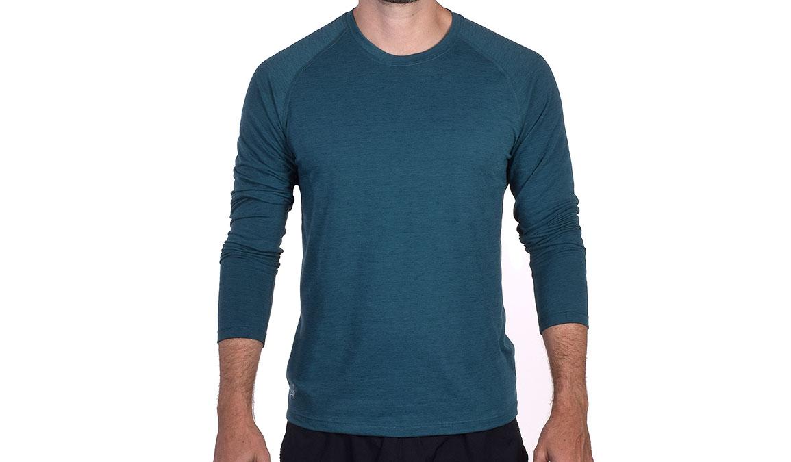 Men's JackRabbit Long Sleeve - Color: Deep Teal Size: S, Teal, large, image 2