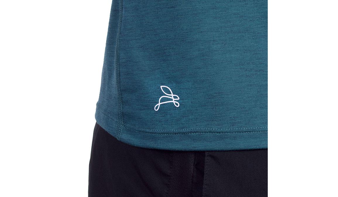Men's JackRabbit Long Sleeve - Color: Deep Teal Size: S, Teal, large, image 4