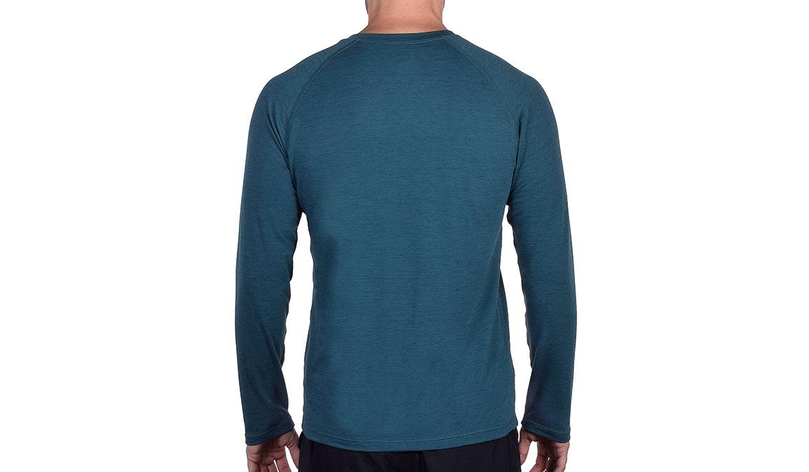 Men's JackRabbit Long Sleeve - Color: Deep Teal Size: S, Teal, large, image 3