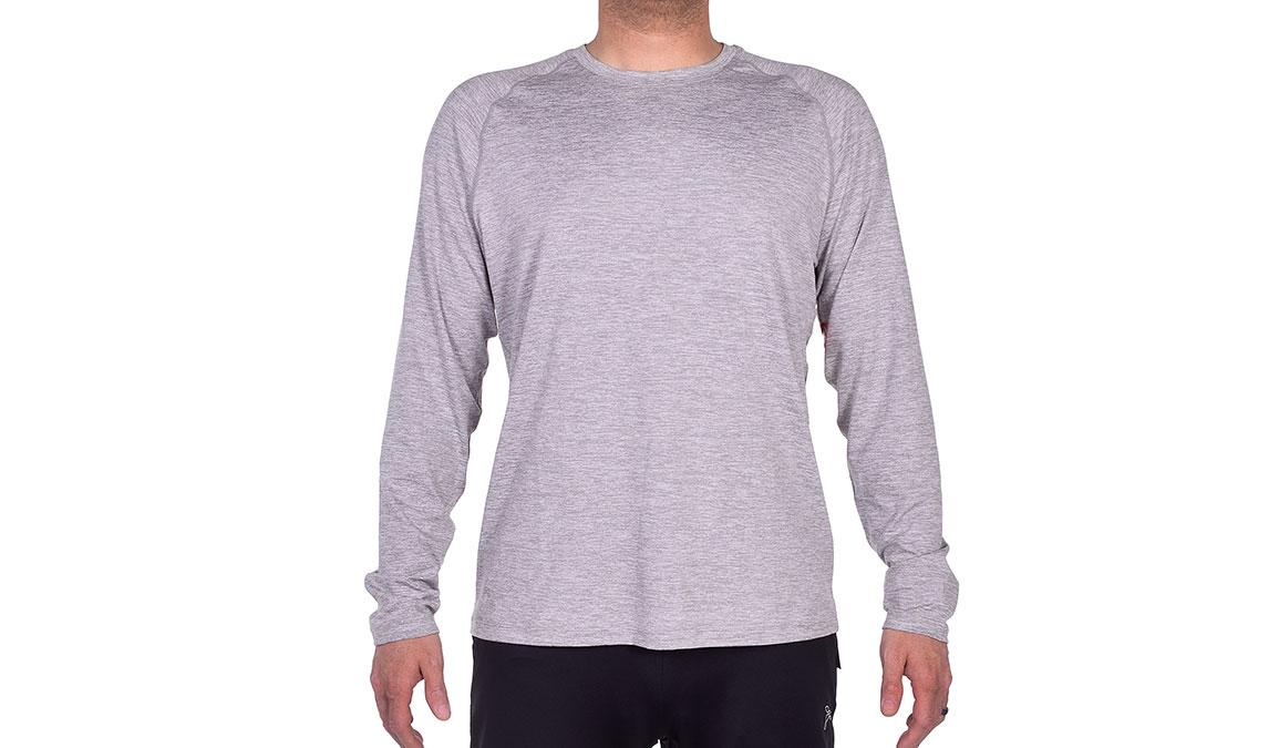 Men's JackRabbit Long Sleeve - Color: Light Grey Size: S, Light Grey, large, image 1