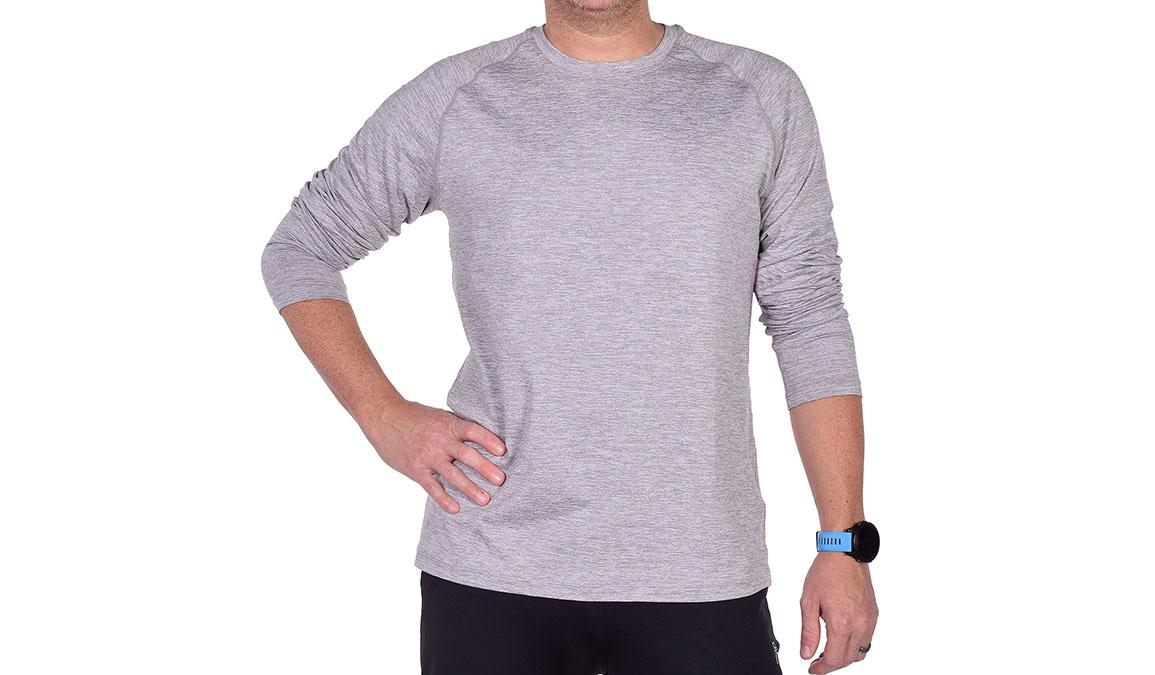 Men's JackRabbit Long Sleeve - Color: Light Grey Size: S, Light Grey, large, image 2
