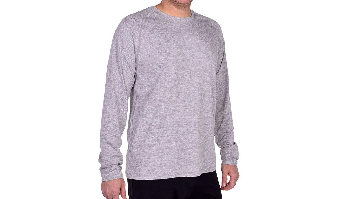 Men's JackRabbit Long Sleeve - Color: Light Grey Size: S, Light Grey, large, image 3