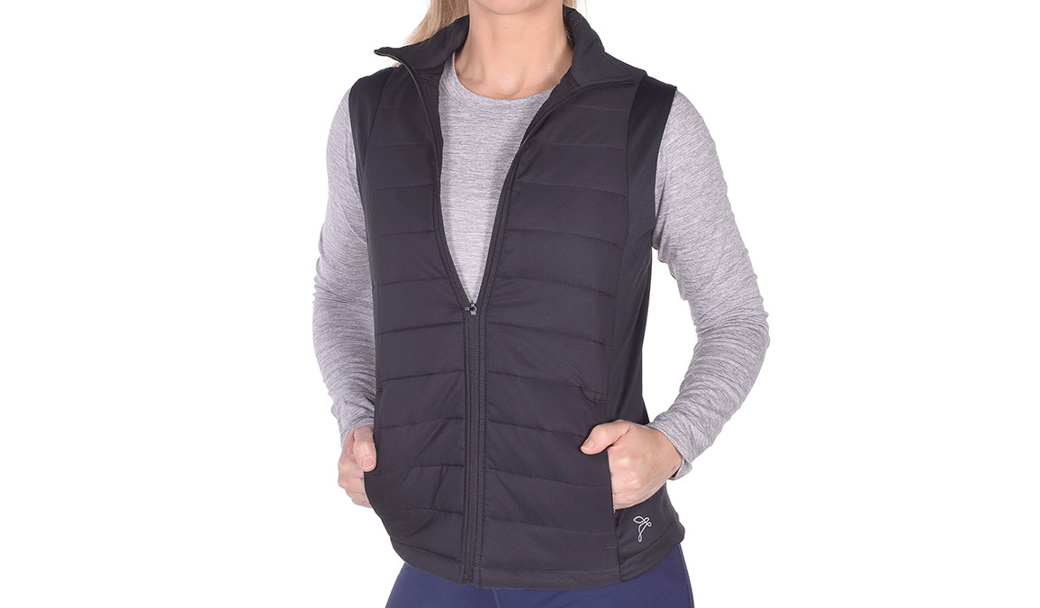 JackRabbit Run Vest  - Color: Black Size: S, Black, large, image 1