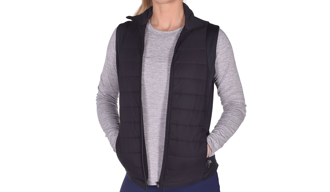 JackRabbit Run Vest  - Color: Black Size: S, Black, large, image 2