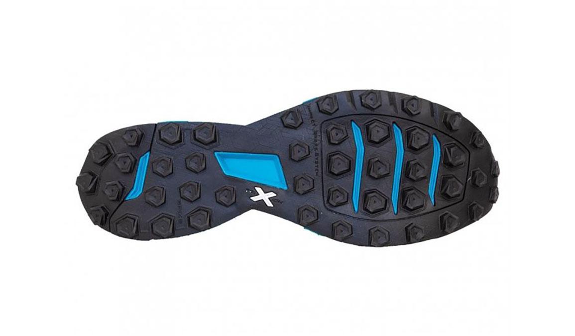 Men's La Sportiva Kaptiva Trail Running Shoe - Color: Carbon/Tropical Blue (Regular Width) - Size: 12, Grey/Blue, large, image 4