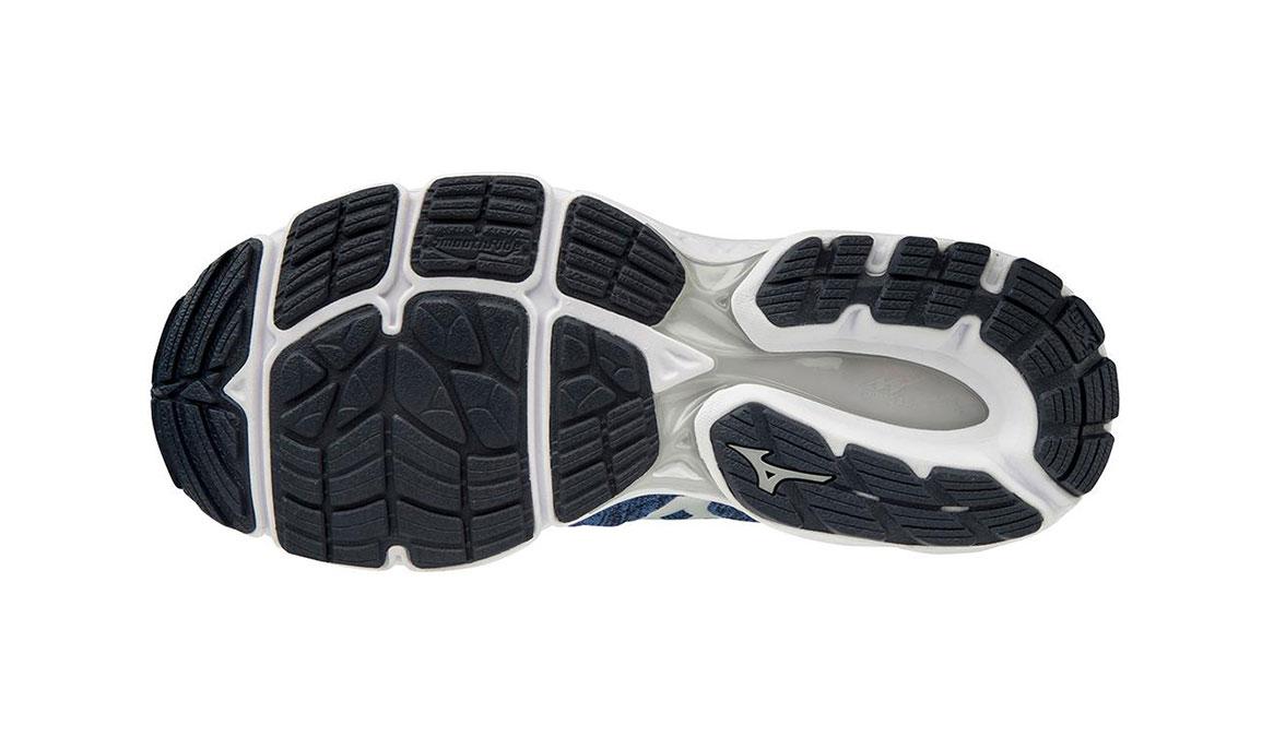 Men's Mizuno Wave Inspire 16 Waveknit Running Shoe - Color: Skydiver/Silver (Regular Width) - Size: 7, Skydiver/Silver, large, image 3