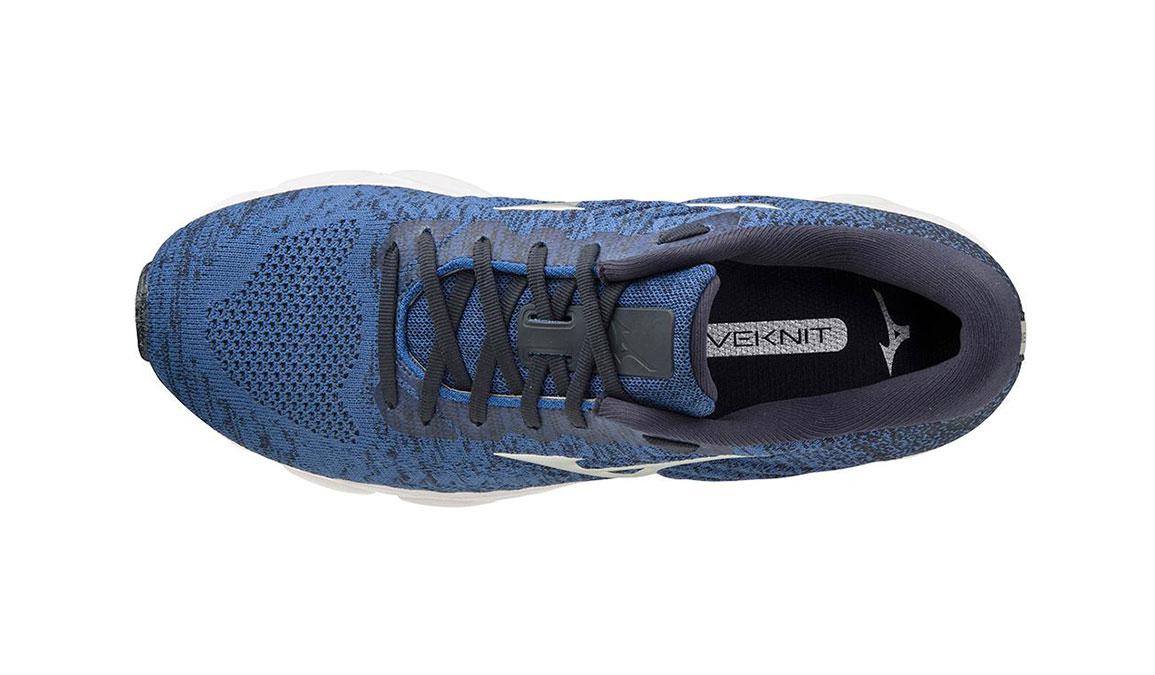 Men's Mizuno Wave Inspire 16 Waveknit Running Shoe - Color: Skydiver/Silver (Regular Width) - Size: 7, Skydiver/Silver, large, image 4