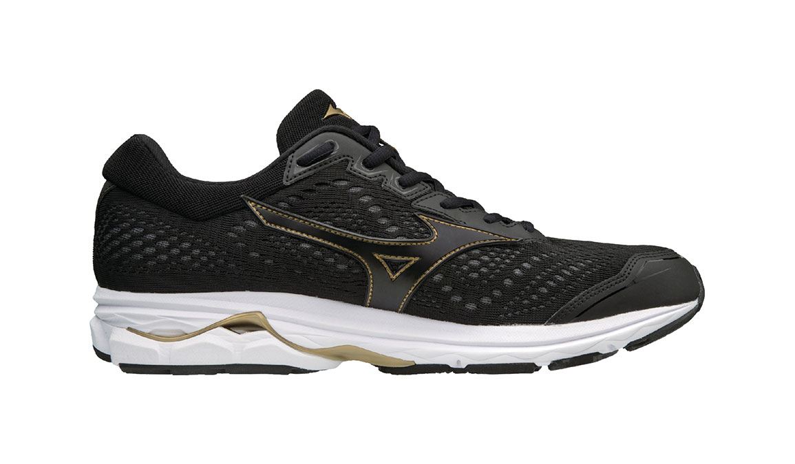 mizuno mens running shoes size 9 youth gold toe and he