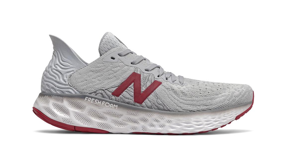 Men's New Balance 1080v10 Running Shoe - Color: Summer Fog (Regular Width) - Size: 8, Grey, large, image 1