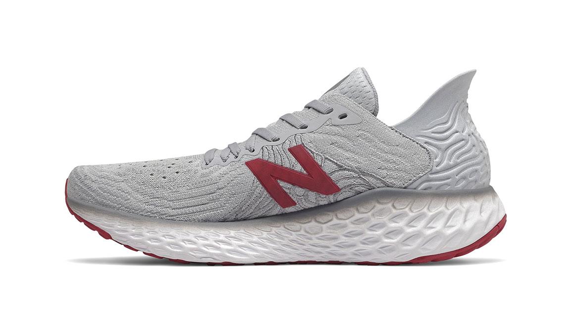 Men's New Balance Fresh Foam 1080v10 Running Shoe - Color: Summer Fog (Regular Width) - Size: 8, Grey, large, image 4