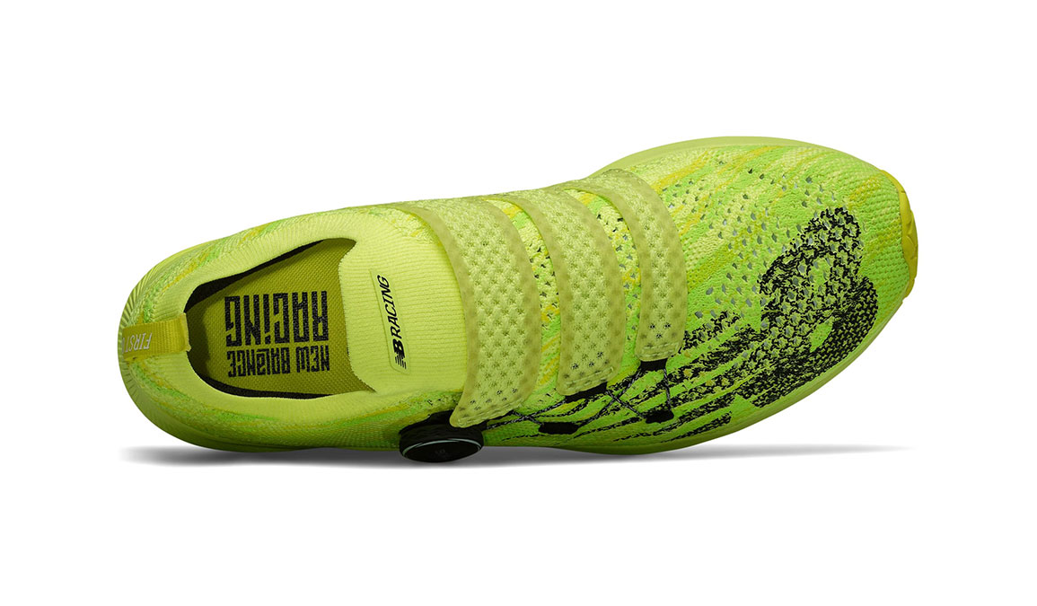 Men's New Balance 1500T2 Running Shoe with Boa - Color: Sulphur Yellow (Regular Width) - Size: 9.5, Yellow/Black, large, image 3