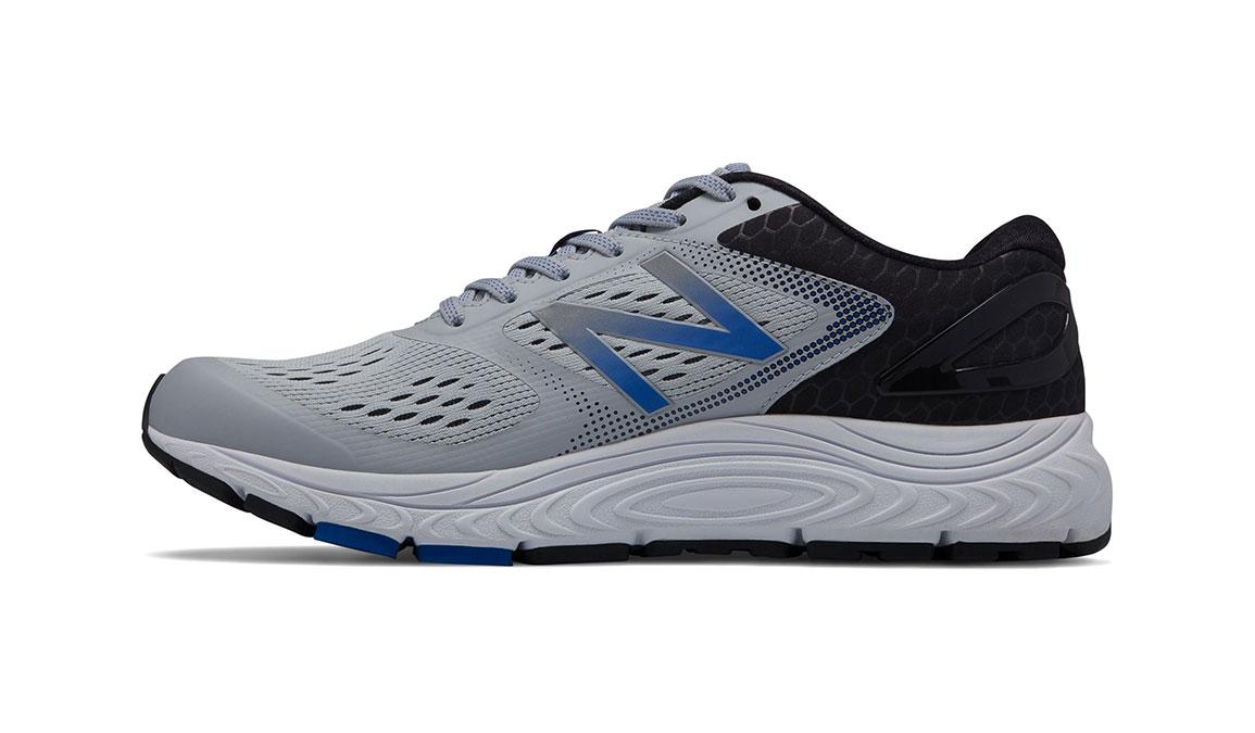 Men's New Balance 840v4 Running Shoe - Color: Silver Mink/Team Blue (Regular Width) - Size: 9.5, Silver/Blue, large, image 2