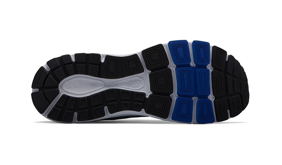 Men's New Balance 840v4 Running Shoe - Color: Silver Mink/Team Blue (Regular Width) - Size: 9.5, Silver/Blue, large, image 4