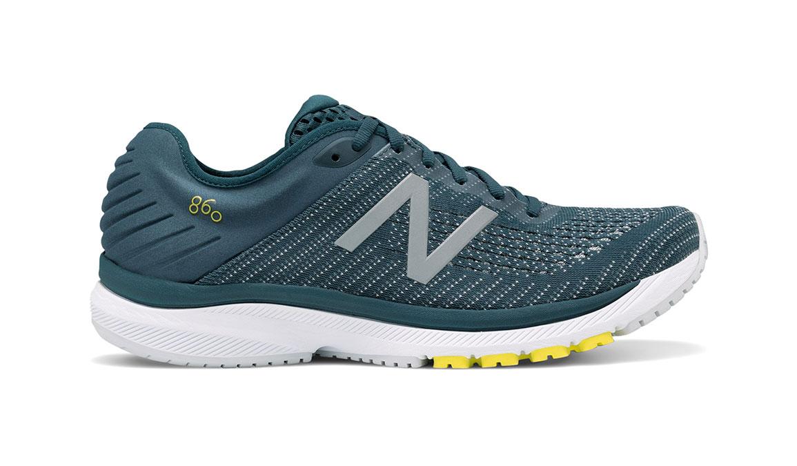 Men's New Balance 860v10 Running Shoe - Color: Supercell/Orion Blue (Wide Width) - Size: 9, Supercell/Orion Blue, large, image 1