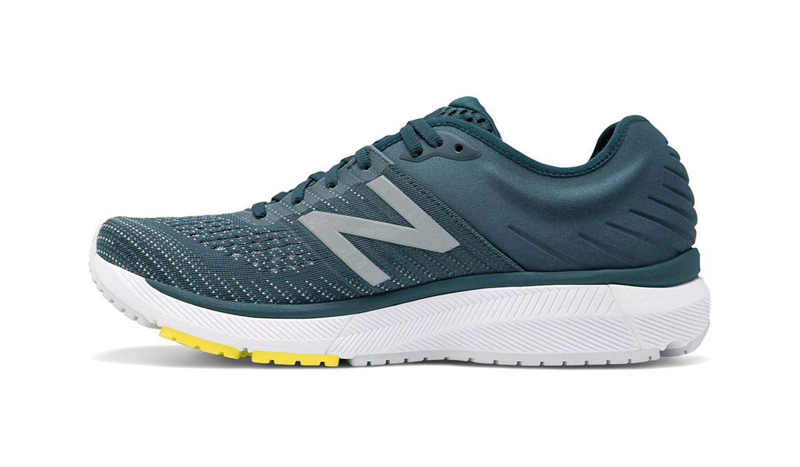 Men's New Balance 860v10 Running Shoe - Color: Supercell/Orion Blue (Wide Width) - Size: 9, Supercell/Orion Blue, large, image 2