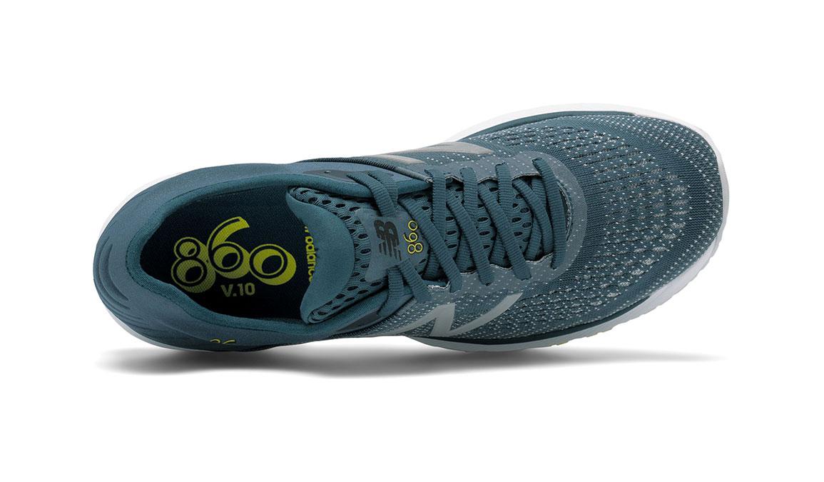 Men's New Balance 860v10 Running Shoe - Color: Supercell/Orion Blue (Wide Width) - Size: 9, Supercell/Orion Blue, large, image 3
