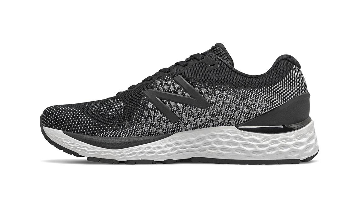 Men's New Balance 880v10 Running Shoe - Color: Black / White (Regular Width) - Size: 10.5, Black/White, large, image 2