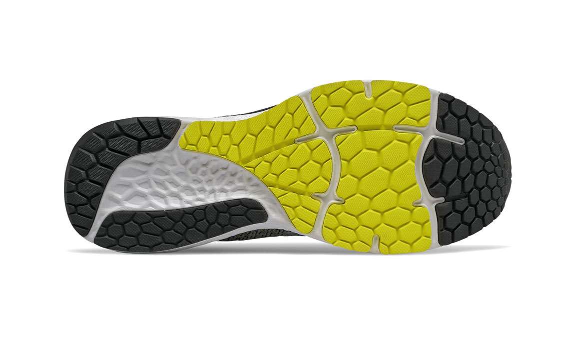 Men's New Balance 880v10 Running Shoe - Color: Silver Mink/Lemon Slush (Wide Width) - Size: 7, Silver/Yellow, large, image 4
