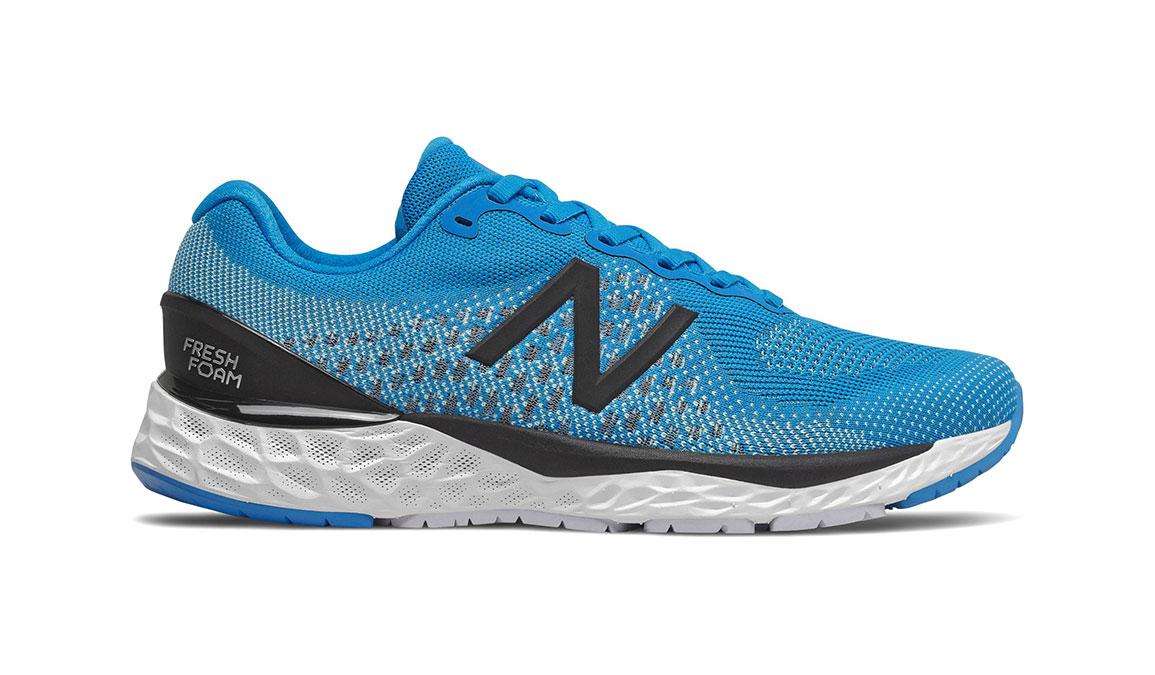 Men's New Balance 880v10 Running Shoe - Color: Vision Blue/Mint (Regular Width) - Size: 7, Blue/White, large, image 1