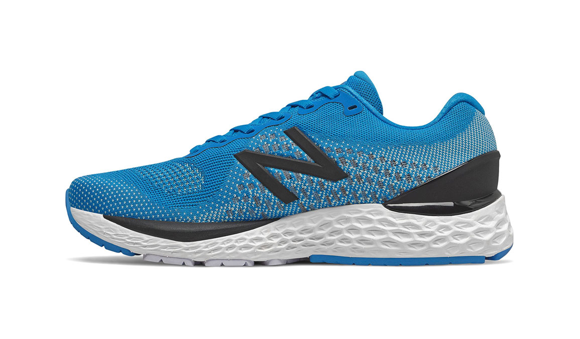 Men's New Balance 880v10 Running Shoe - Color: Vision Blue/Mint (Regular Width) - Size: 7, Blue/White, large, image 2
