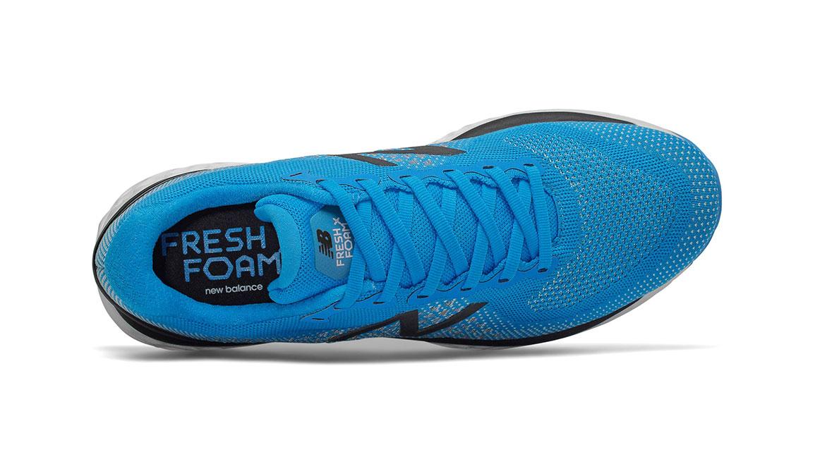 Men's New Balance 880v10 Running Shoe - Color: Vision Blue/Mint (Regular Width) - Size: 7, Blue/White, large, image 3