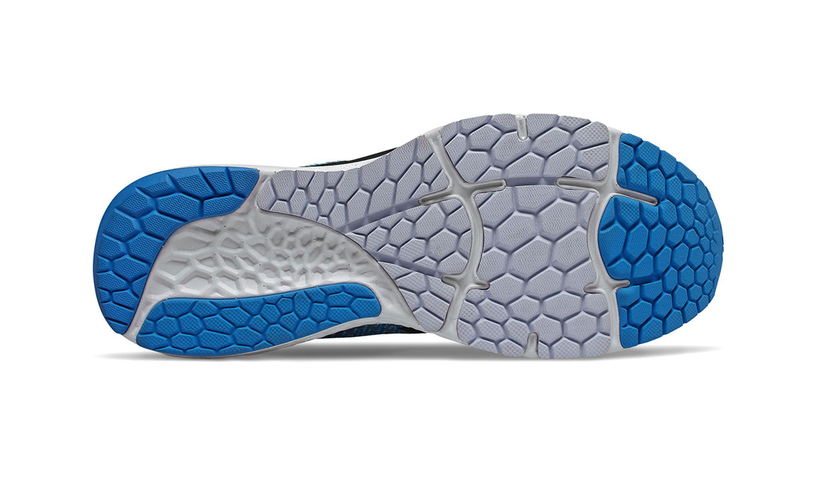 Men's New Balance 880v10 Running Shoe - Color: Vision Blue/Mint (Regular Width) - Size: 7, Blue/White, large, image 4