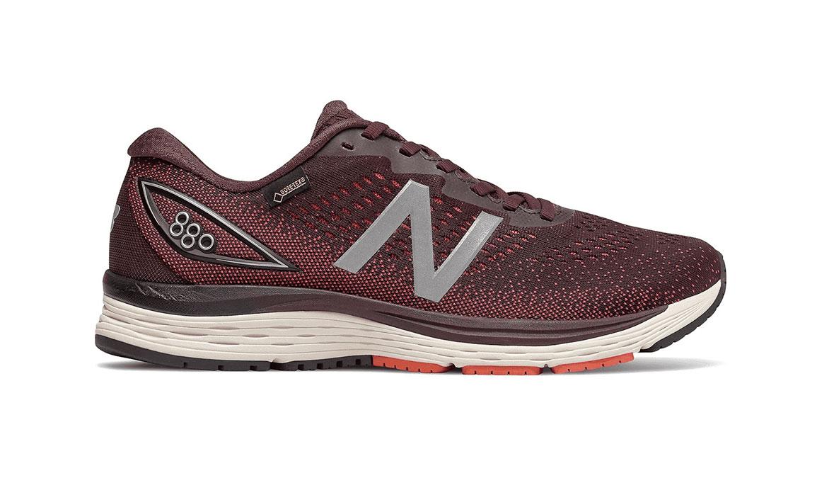 Men's New Balance 880V9 Running Shoe - Color: Henna (Regular Width) - Size: 7.5, Red/White, large, image 1