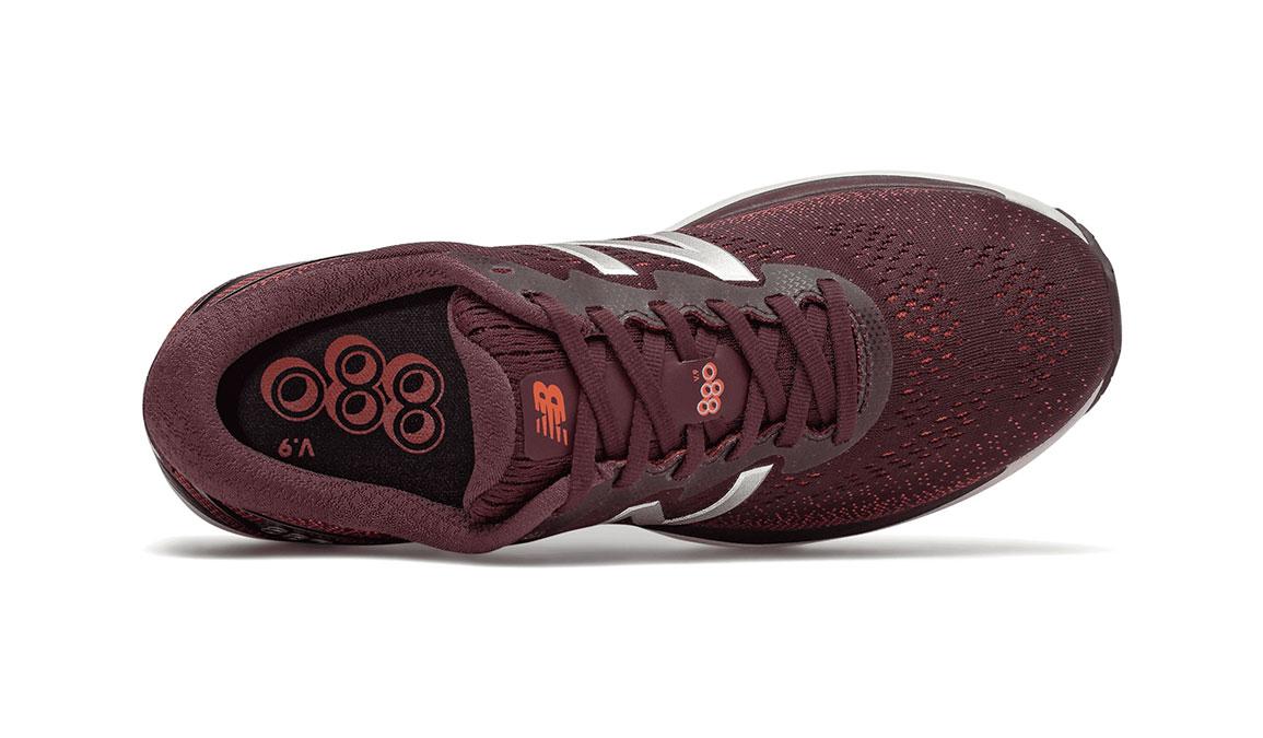 Men's New Balance 880V9 Running Shoe - Color: Henna (Regular Width) - Size: 7.5, Red/White, large, image 3