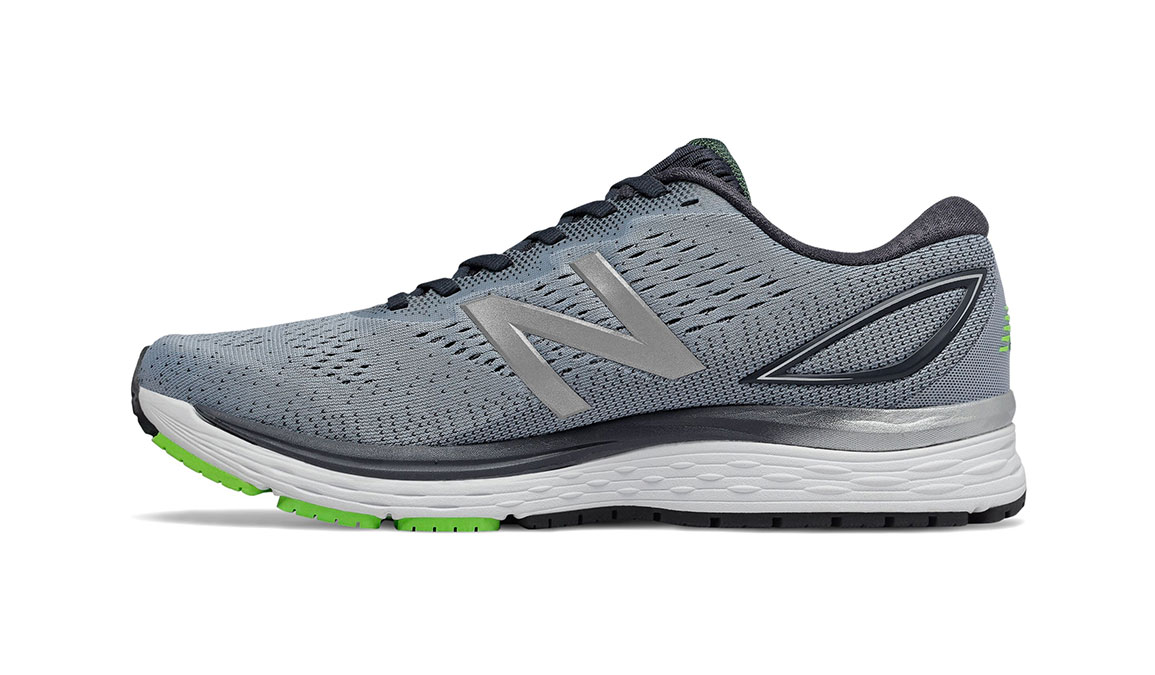 Men's New Balance 880v9 Running Shoe - Color: Reflection/Outerspace/RGB Green (Wide Width) - Size: 7, Reflection/Outerspace/RGB Green, large, image 2