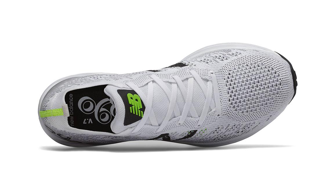 Men's New Balance 890v7 Running Shoe - Color: White/Black/Green (Regular Width) - Size: 8.5, White/Green, large, image 3
