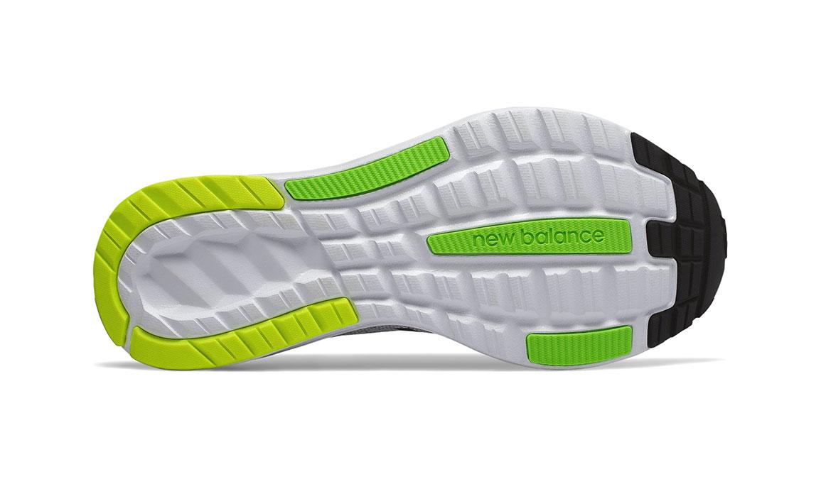 Men's New Balance 890v7 Running Shoe - Color: White/Black/Green (Regular Width) - Size: 8.5, White/Green, large, image 4