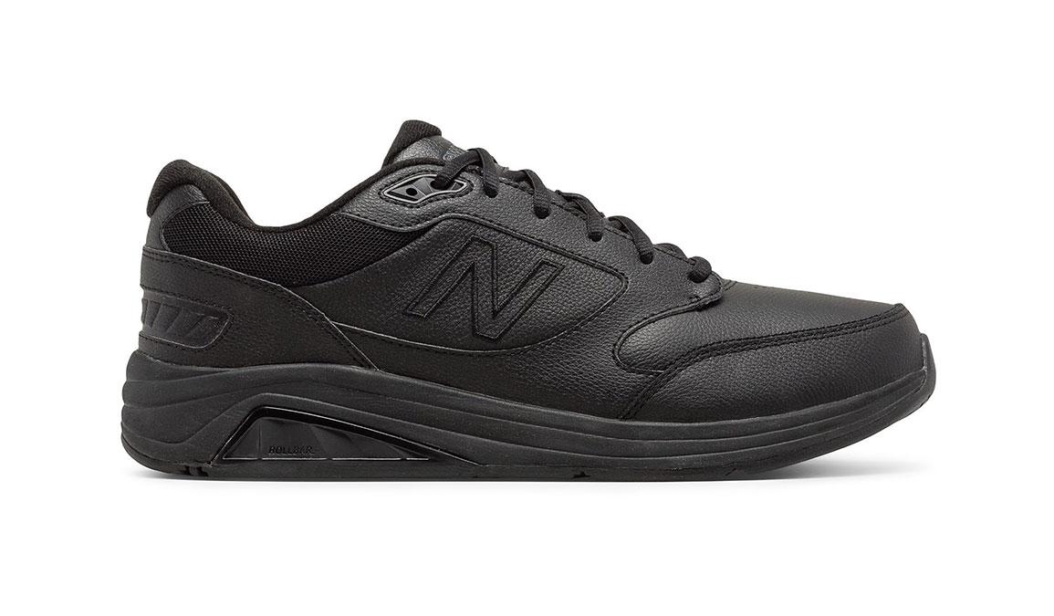 Men's New Balance 928 V3 Walking Shoe - Color: Black (Regular Width) - Size: 8.5, Black, large, image 1