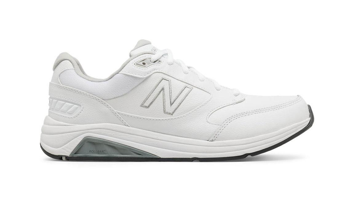 Men's New Balance 928 V3 Walking Shoe - Color: White (Regular Width) - Size: 8.5, White, large, image 1