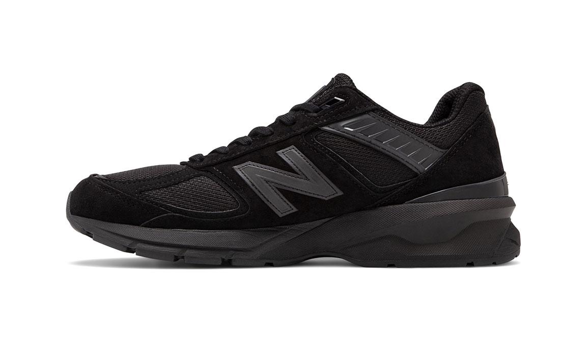 Men's New Balance 990v5 Running Shoe - Color: Black (Regular Width) - Size: 6, Black, large, image 2