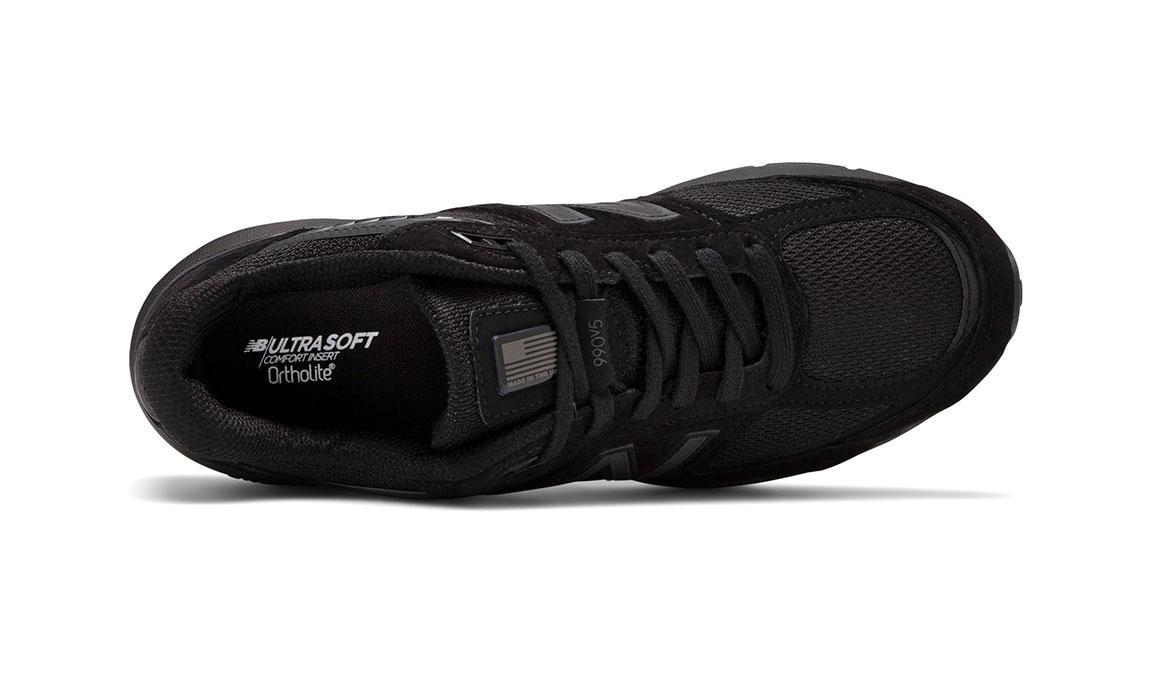 Men's New Balance 990v5 Running Shoe - Color: Black (Regular Width) - Size: 6, Black, large, image 3